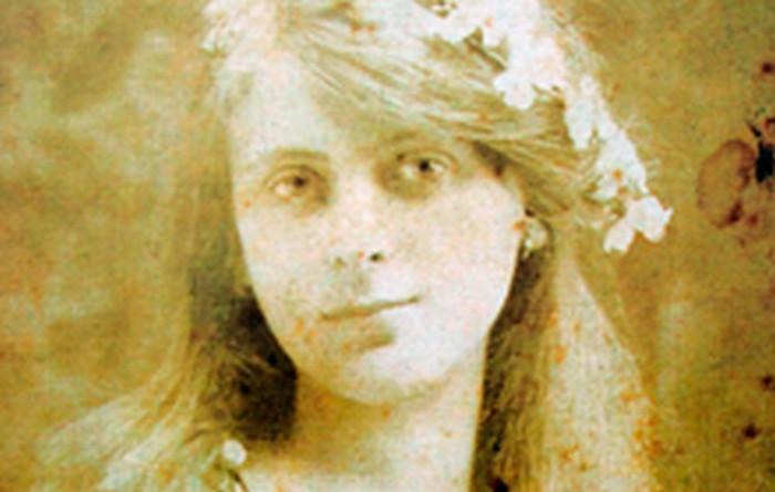 Sara Leiman, Janina's mother. Kraków c. 1918.