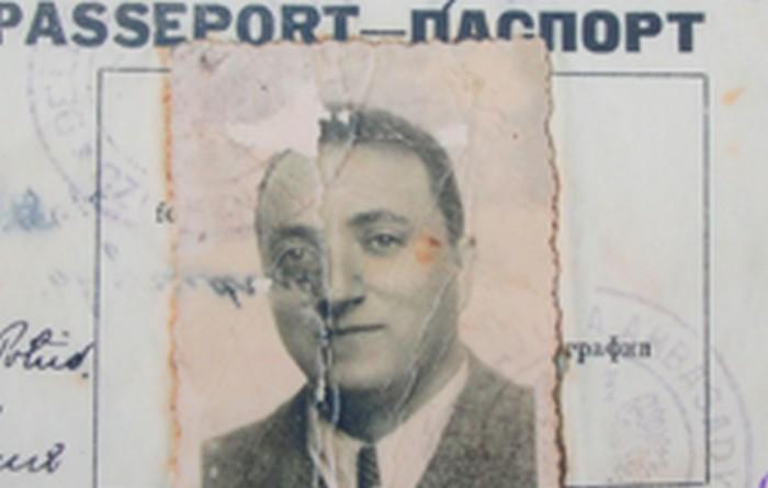 Dawid Leiman in 1949.