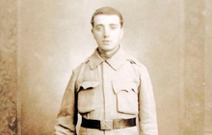 Dawid Leiman, Janina's father. Kraków c. 1915.