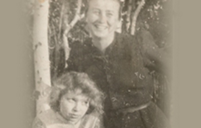 Dorota Girtler and Klementyna Zienkiewicz. 1944.