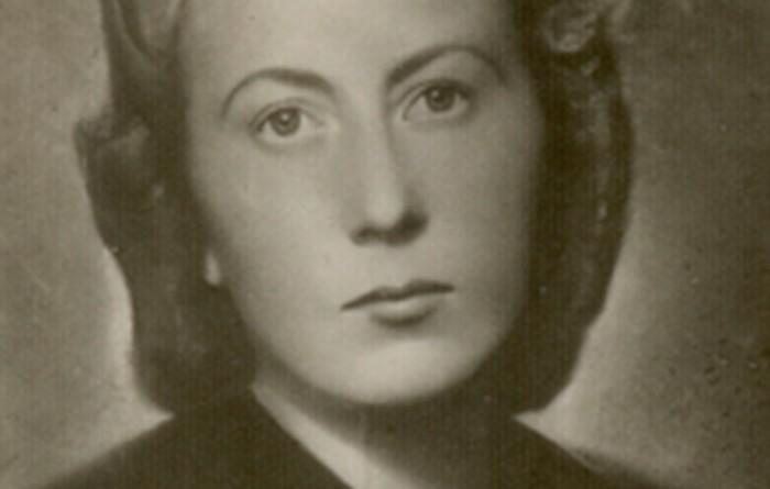 Wanda Girtler, Dorota's sister. 1944.
