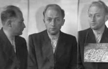 Henryk Münch in prison. Kraków 1946.