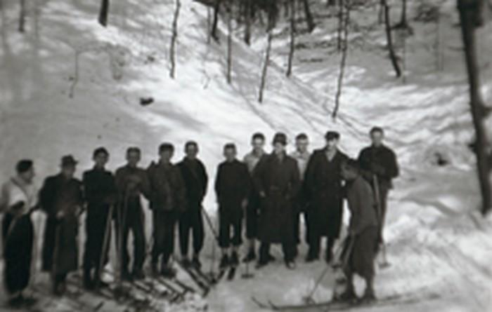 Zawisza group in Wolski Forest. February 20, 1944.