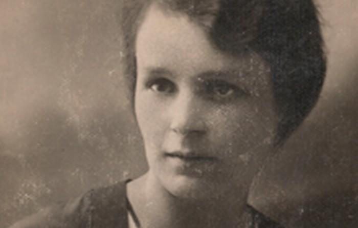 Kazimiera Ostafin, Stanisław's wife. 1930s.
