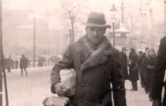 Józef Ostafin in Lviv in 1935.