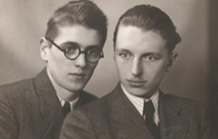 Stanisław Ptak and Zygmunt Marciński before 1939.