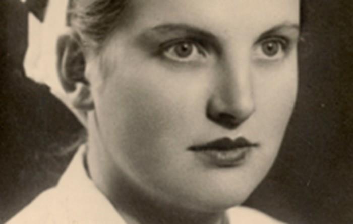 Stanisław's wife, Helena. 1950s.