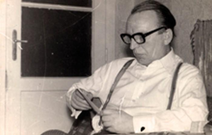 Stanisław Ptak in the 1970s.