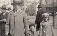 Teresa with her father Władysław Macak and brother Leszkek, Warszawa 1935, private property