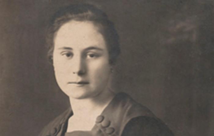 Terasa's mother Anna Macak. Kraków 1923.