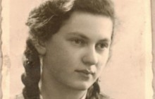 Halina Wohlfeiler, Rena's sister, Krakow around 1941, the property of the National Archives in Krakow