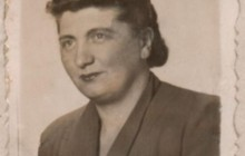 Róża Wohlfeiler, Rena's mother, Krakow around 1941, the property of the National Archives in Krakow