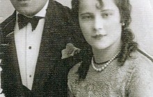 Niusia's parents: Regina (1906−1986), née Rosner, and Dolek Horowitz (1905−1974), Kraków, 1 March 1931, property of Niusia Horowitz-Karakulska