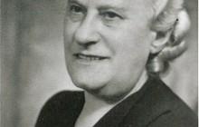 Niusia's grandmother Sara Horowitz (1888−1862), Kraków, 1946, property of Niusia Horowitz-Karakulska