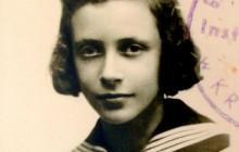 Janina, jako uczennica Instytutu Maryjnego przy ul. Pędzichów 16, Kraków 1945 r., wł. prywatna