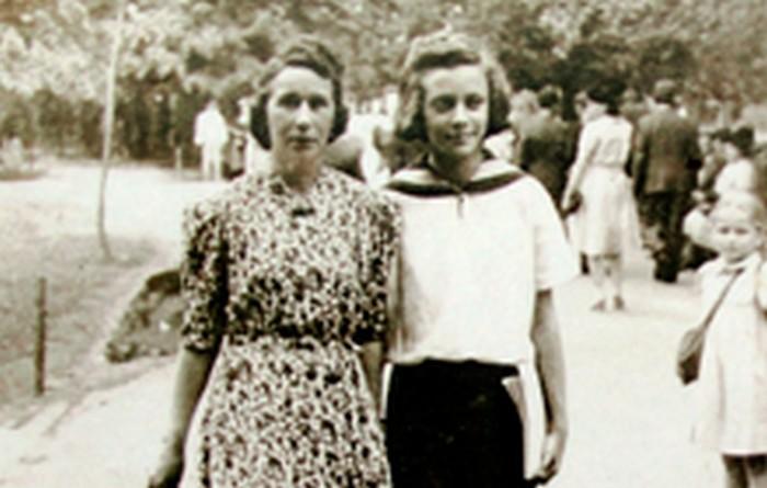 Janina z Józefą – polską mamą, Kraków 1945 r., wł. prywatna