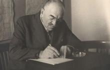 Ojciec Józefa– Jan Fiszer, naczelnik kanalizacji miejskiej w krakowskich wodociągach,  1946 r., wł. prywatna