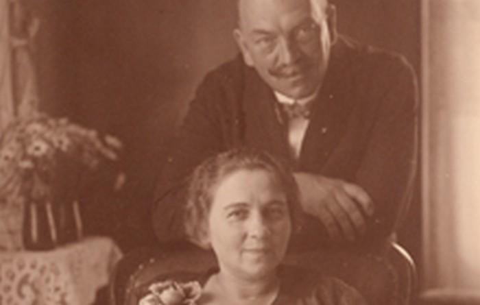 Rodzice Józefa – Franciszka i Jan Fiszerowie, 1946r., wł. prywatna