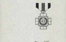Legitymacja Armii Krajowej, Londyn 1968 r., wł. prywatna