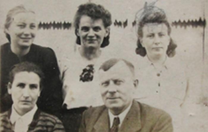 Rodzina Girtlerów lata 40. XX w., wł. prywatna