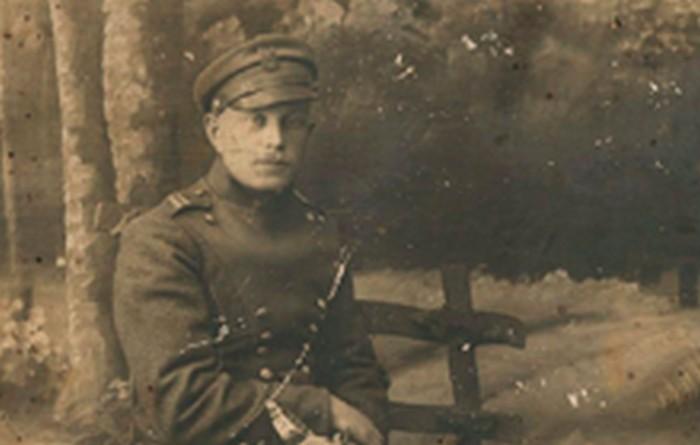Michał Girtler, ojciec Doroty, ok. 1916 r., wł. prywatna