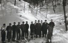 Bieg patrolowy krakowskiej Zawiszy w Lesie Wolskim, 20 II 1944 r., wł. MHK