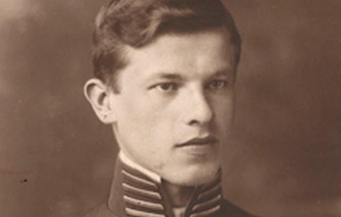 Józef Ostafin, Gimnazjum B. Nowodworskiego, Kraków ok. 1914 r., wł. prywatna