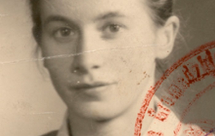 Jadwiga Ostafin, córka Józefa, Kraków 1947 r., wł. prywatna