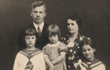 Rodzina Ostafinów, 1938 r., wł. prywatna