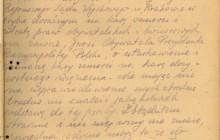 Prośba o ułaskawienie napisane przez samego Stanisława, Kraków 1947 r., wł. IPN w Krakowie