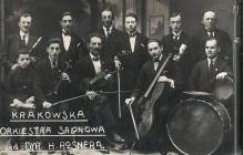 Krakowska Orkiestra Salonowa Henryka Rosnera, Kraków, lata 30. XX w., wł. Niusi Horowtiz-Karakulskiej