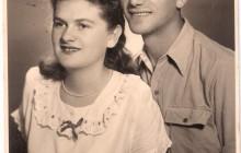 Rena z mężem Ignacym Birnhackiem, po 1945 r., wł. prywatna