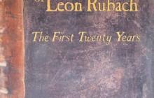 """Okładka opublikowanych wspomnień z dedykacją Leona (Uli) Rubacha ocalonego przez Zofię Tomaszewską. Leon Rubach, """"The Autobiography of Leon Rubach. The First Twenty Years"""", New Jersey 2009"""
