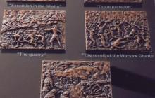 Odznaczenie dla Zofii Tomaszewskiej im. Jana Karskiego przyznane przez Anti-Defamaion League w Stanach Zjednoczonych w 2017 r. za ocalenie rodziny Rubachów