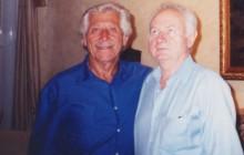 Leon Rubach i Janusz Tomaszewski, New Jersey ok. 2005, wł. Janusza Tomaszewskiego