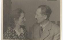 Zofia i Wacław Tomaszewscy, lata 60. XX w., wł. Janusza Tomaszewskiego