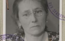 Zofia z Reymanów Tomaszewska, Kraków, 1942 r., wł. Janusza Tomaszewskiego